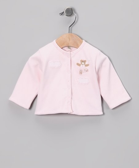 Pink Fairy Bear Cardigan - Infant