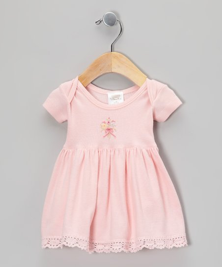 Pink Bouquet Dress - Infant, Toddler & Girls