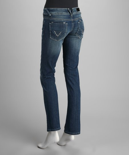 Vigoss Light Wash Straight-Leg Jeans
