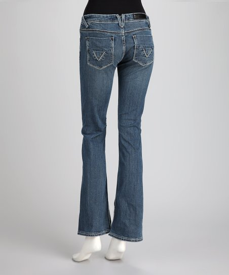 Vigoss Medium Blue Bootcut Jeans