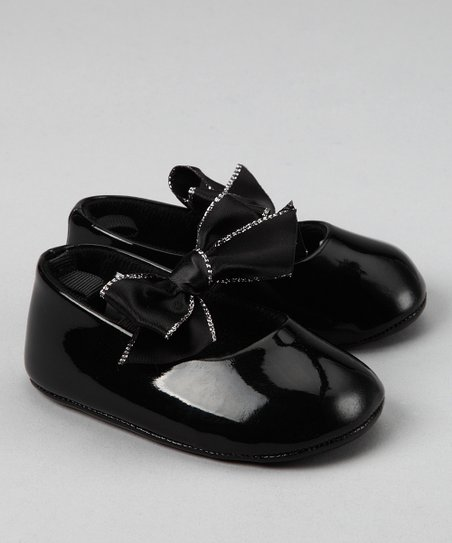 Black Lurex Flat