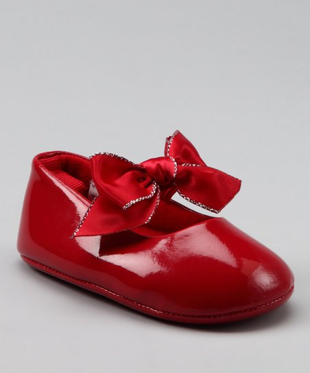 Red Lurex Flat