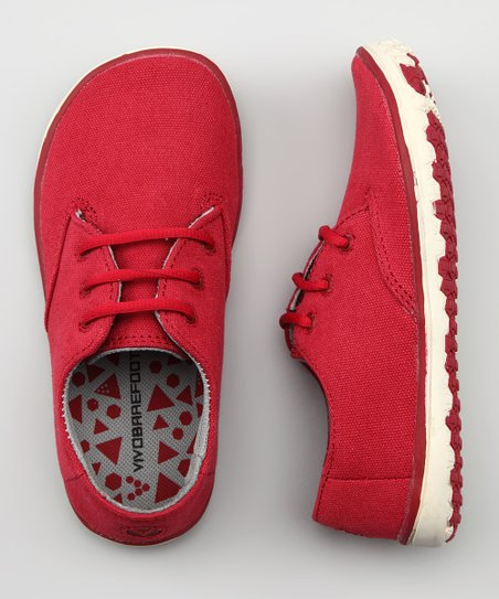 Dark Red Ra Shoe - Kids