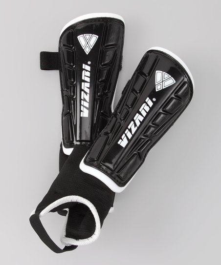 Black Malaga Shin Guards
