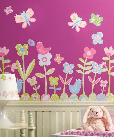 Baby Daisy Wall Decal Set