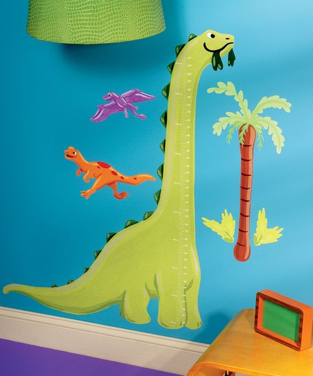Dino Growth Chart Wall Decal Set
