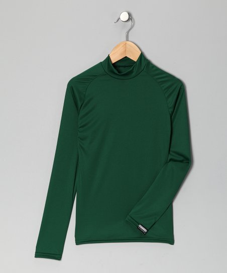 Forest Green Microtech Long-Sleeve Shirt