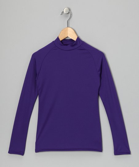 Purple Microtech Long-Sleeve Shirt