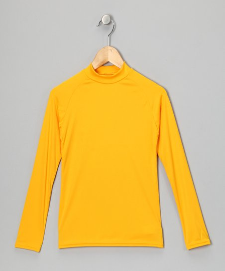 Yellow Gold Microtech Long-Sleeve Shirt