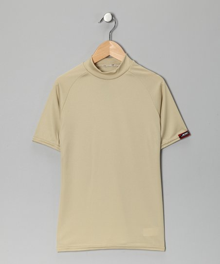Vegas Gold Microtech Form-Fit Short-Sleeve Shirt