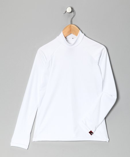 White Arctic Microtech Long-Sleeve Shirt