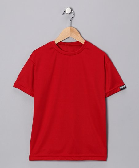 Scarlet Microtech Loose Short-Sleeve Shirt