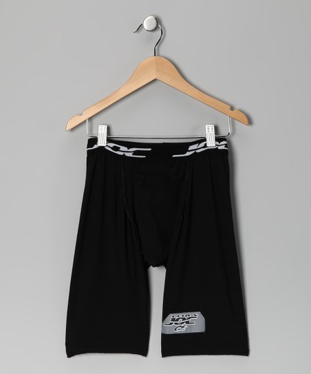 Black Ultrajoc Support Shorts