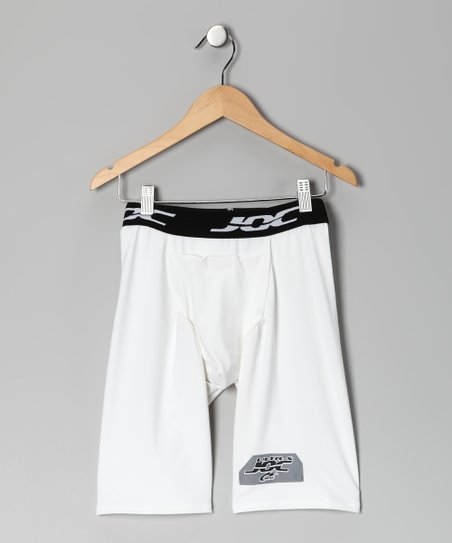 White Ultrajoc Support Shorts