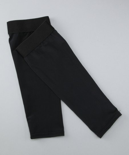 Black Compression Shin Sleeve