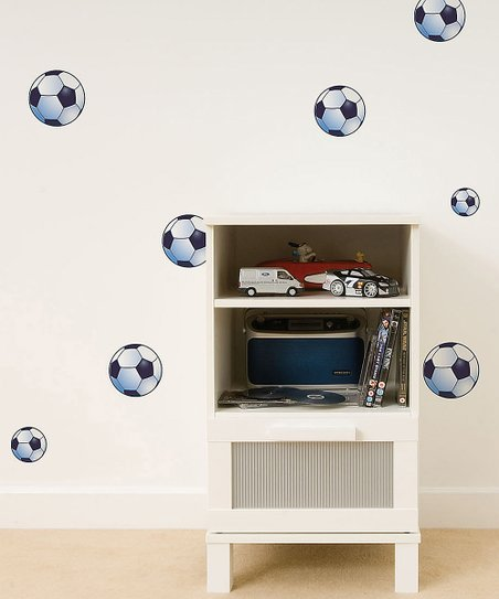 Soccer Ball Wall Decal - Set of 12