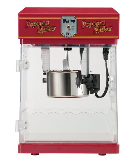 Red 8-Cup Professional Popcorn Maker