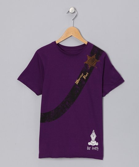 Purple Heart 'Sheriff' Guitar Tee - Toddler & Boys