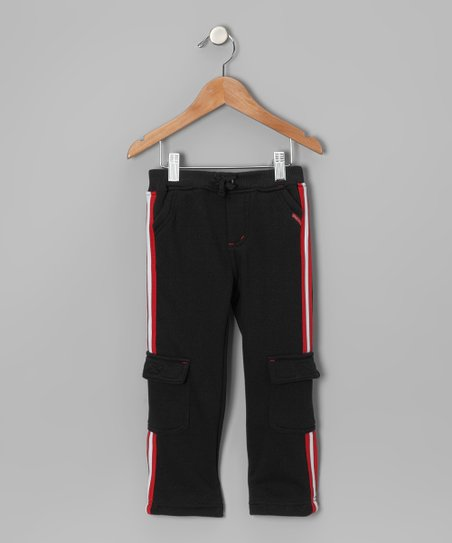 Black Cargo Pants - Infant & Toddler