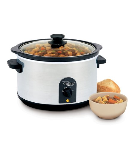 Stainless Steel 6-Qt. Slow Cooker