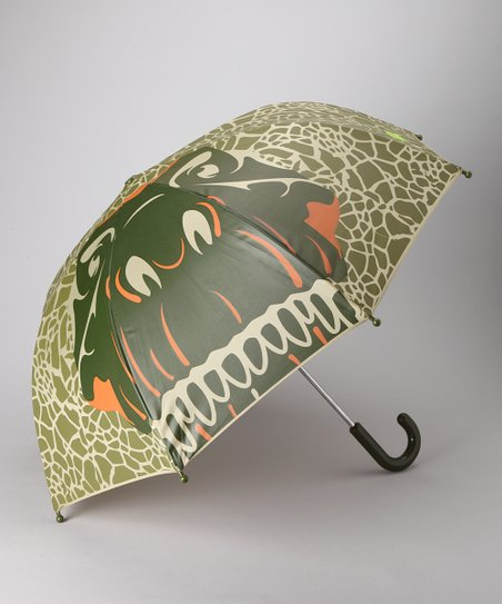 Green Dinosaur Umbrella