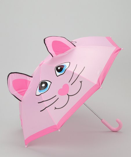Pink Kitty Umbrella