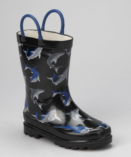 Black Shark City Rain Boot