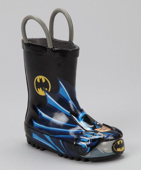 Black Batman Rain Boot
