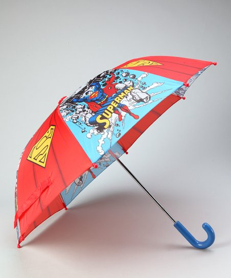 Blue Superman Umbrella