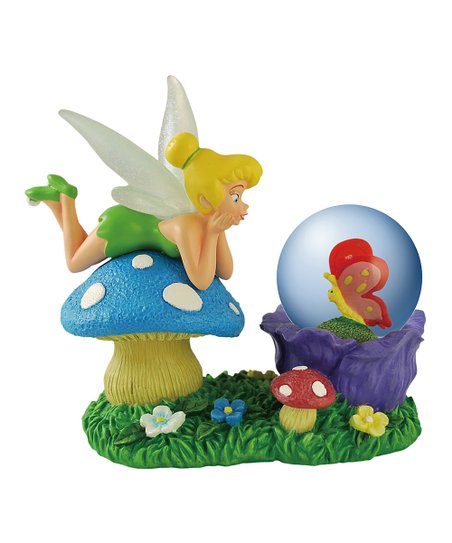 Blue Tinker Bell Snow Globe