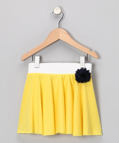 Whimsical Pudding Lemonade Twirl Skirt