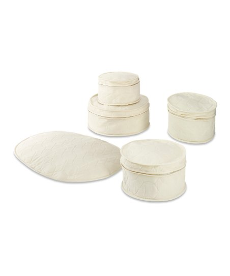 Natural Five-Piece China Storage Set