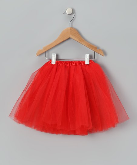 Red Tulle Tutu - Infant