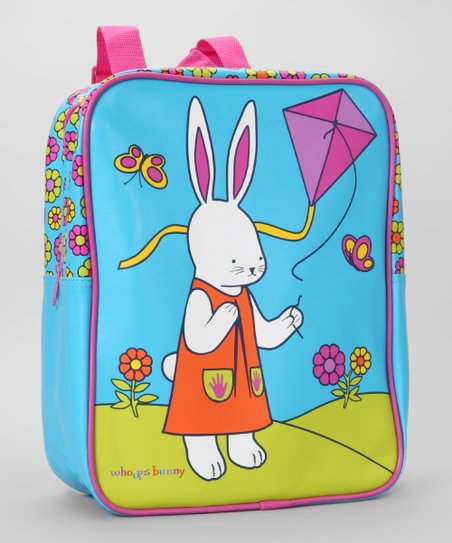 Whoops Bunny Teal Kite Bunny Range Backpack