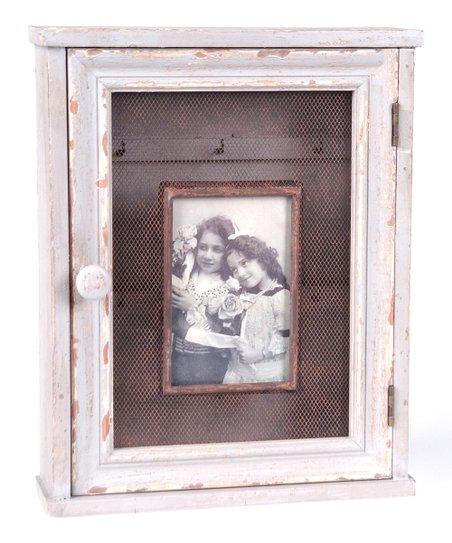 White Frame Key Box