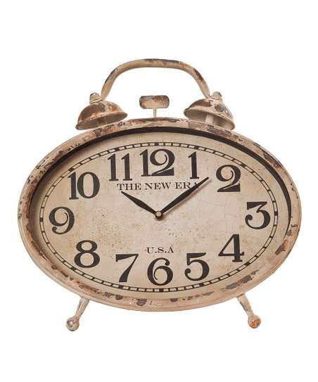Vintage White Clock