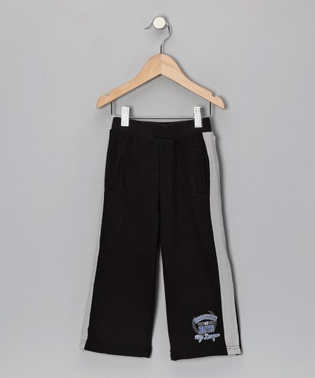 Black &#039;Brooklyn City League&#039; Warm-Up Pants - Toddler