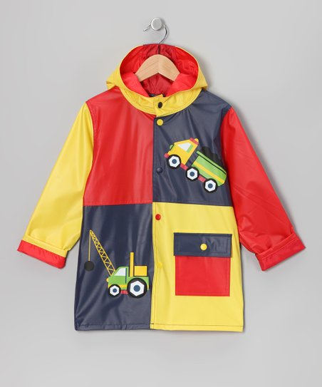 Primary Truck Raincoat - Infant, Toddler &amp; Boys