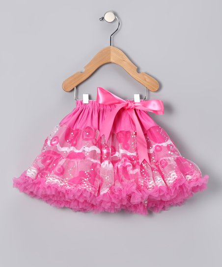 Hot Pink Loving Lace Pettiskirt