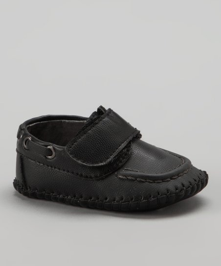 Black Strap Loafer