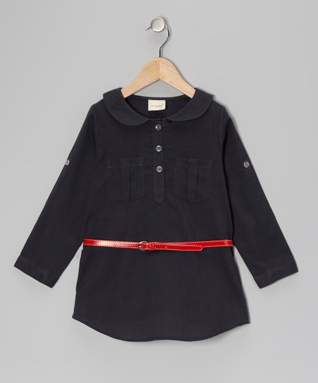 Chambray Tunic - Toddler & Girls
