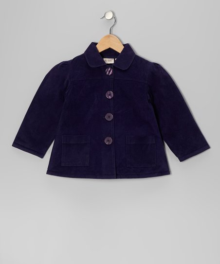 Ink Blue Jacket - Toddler & Girls