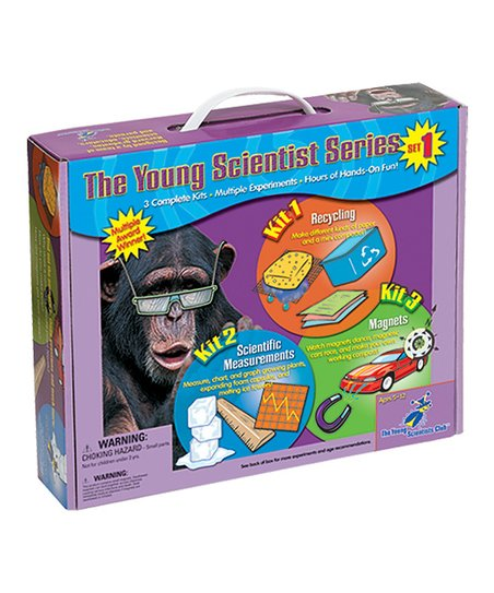 Young Scientists Recycling, Measurements & Magnets Kits Set
