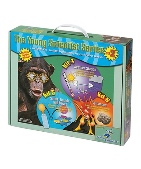 Solids, Liquids, Weather & Volcanoes Kits Set
