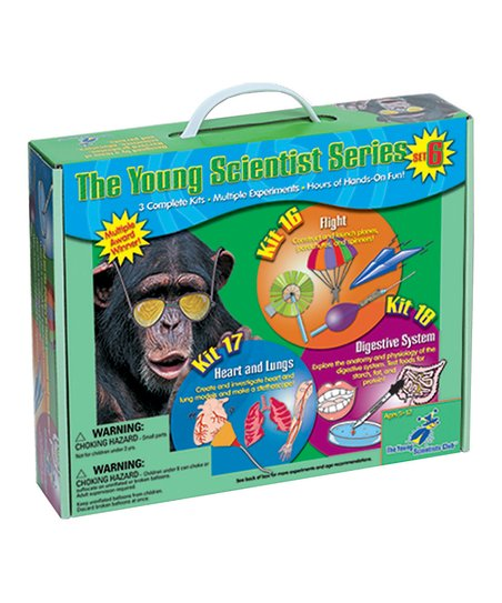 Young Scientists Flight, Heart & Digestive Kits Set