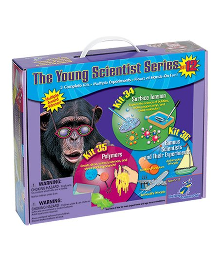 Surface Tension, Polymers & Scientists Kits Set
