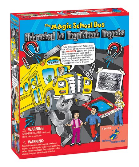 Magic School Bus: Magnets Kit