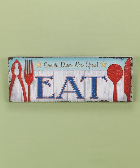 'Eat' Wall Art