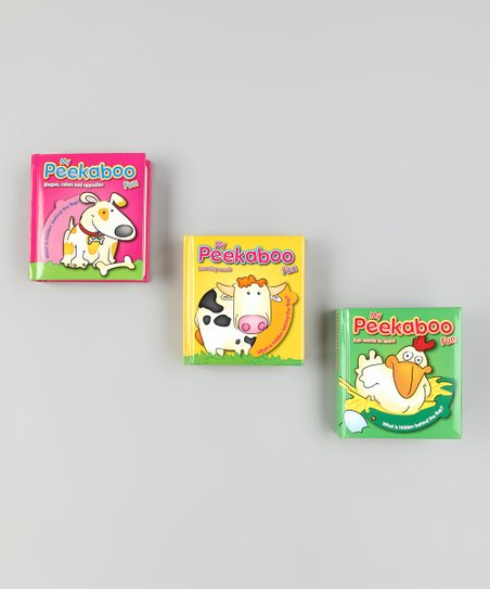 Peek-A-Boo Board Book Set 3
