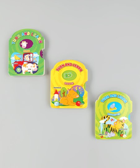 Turn & Learn Board Book Set 1